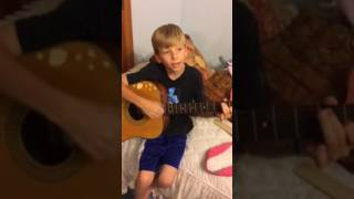 10 year old boy sings love sick blues MUST WATCH