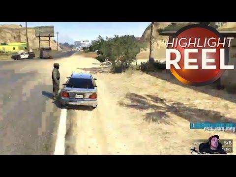 GTA Cop Pulls Player Over Like A Damn Terminator