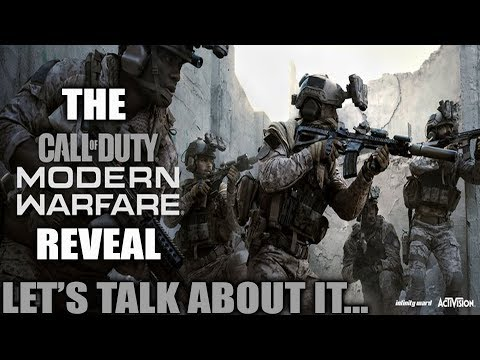 The MODERN WARFARE Multiplayer Reveal...Let's Talk About It