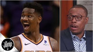 Deandre Ayton is 'like a young David Robinson' and has 'all the tools' - Paul Pierce | The Jump