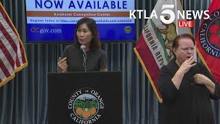 Coronavirus: Officials In Orange County, California, Address Regions COVID-19 Response
