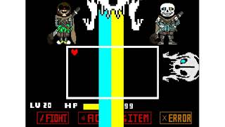 undertale ink sans fight phase 4 - TH-Clip