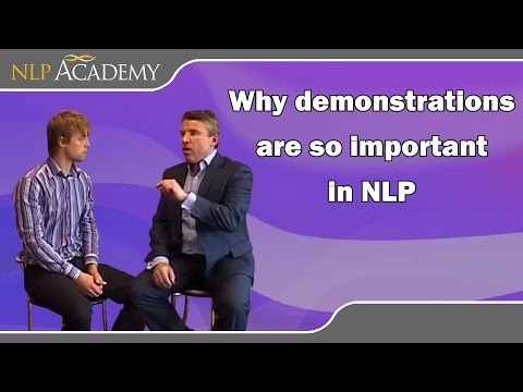 Why demonstrations are so important in NLP