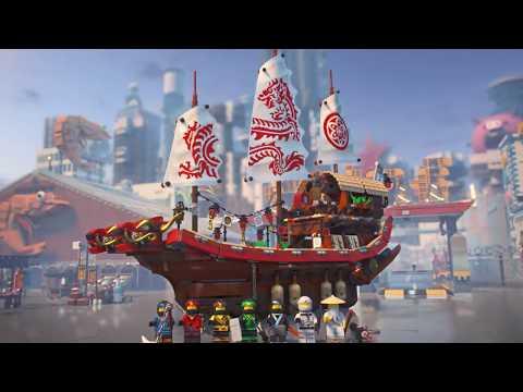 Vidéo LEGO Ninjago 70618 : Le QG des ninjas