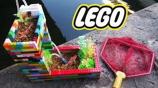 BEST DIY LEGO Fish POND AQUARIUM!