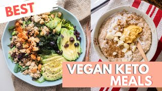 BEST KETO VEGAN MEAL | Favorite Keto Meals + Recipe | Day 9