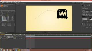 After Effects CS6 Tutorial - 10 - Editing the Motion Path