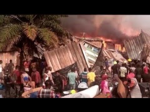 Fires 🔥 In Ghana 🇬🇭