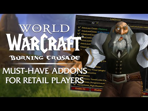 13 Must-Have ADDONS for Retail Players in Burning Crusade Classic & Classic WoW