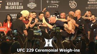 UFC 229: Khabib Nurmagomedov vs Conor McGregor Ceremonial Weigh-ins