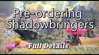 ffxiv shadowbringers pre order ps4 theme - TH-Clip