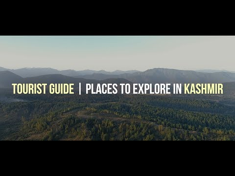 Tourist guide | Places to explore in Kashmir