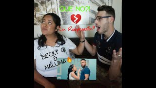 Becky G, Maluma   La Respuesta (Official Video) || REACCION