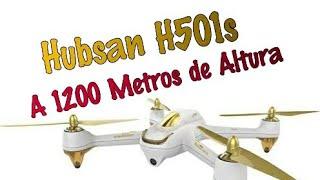Hubsan H501s a 1200 Metros de altura