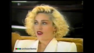 MADONNA talks about PRINCE in 1989