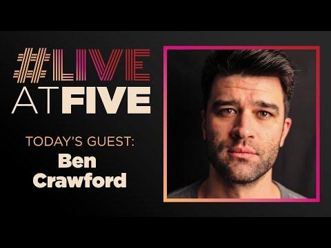 Broadway.com #LiveatFive with Ben Crawford of THE PHANTOM OF THE OPERA