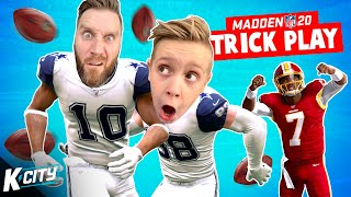 Greatest TRICK PLAY Ever in Madden NFL 20 | K-CITY GAMING