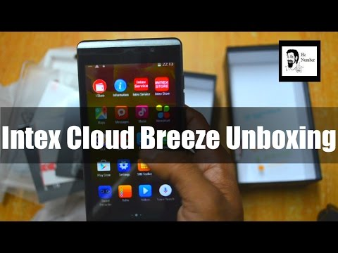 Intex Cloud Breeze Unboxing & Review | Budget Phone 3999 INR [Hindi]