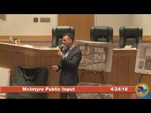 McIntyre Project Public Input 4.24.18