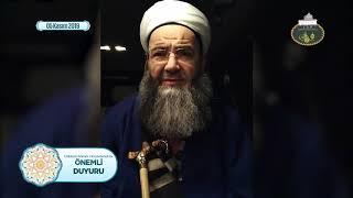 Cübbeli Ahmet Hocaefendi'nin Şemâil-i Şerîfe dersinden sonraki ilme teşvik konuşması