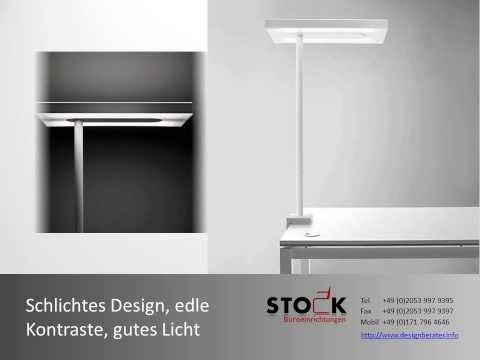 STOCK Lampen und Stehleuchten LED Licht stromparende  Bürolampen für Ihr Büro