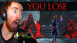 Asmongold Gets DESTROYED In an All Out PVP BRAWL - Dark Souls 3