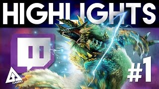 Monster Hunter 4 Ultimate Twitch Highlights #1