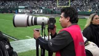 """Great Shots"" Show ""Sideline Football Photography with Fernando Escovar"""