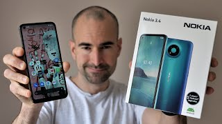 Nokia 3.4 - Unboxing & Full Tour - £129 surprise!