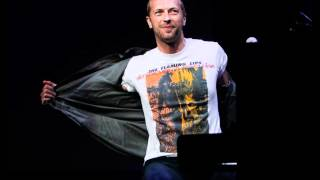 "группа Coldplay, Chris Martin on ""Flaming Lips and Heady Fwends"" - ""I Don't Want You To Die"""