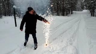 Сценический фонтан  Холодный огонь Р4814 от компании Интернет-магазин SalutMARI - видео