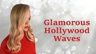 Glamorous Hollywood Waves Tutorial With Sheree | Siren Hair Art