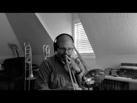 "Multitrack tenor/bass trombone video of ""The River Knows it All"" by Ilja Reijngoud. Recorded in May 2020."