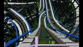 preview picture of video '[Stuff] Rollercoaster Tycoon 3 - WoodenRC  Crazy Race'