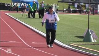 101 year old wins gold in 100m