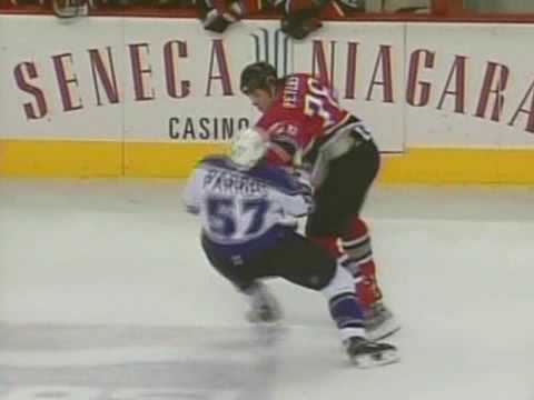 George Parros vs Andrew Peters