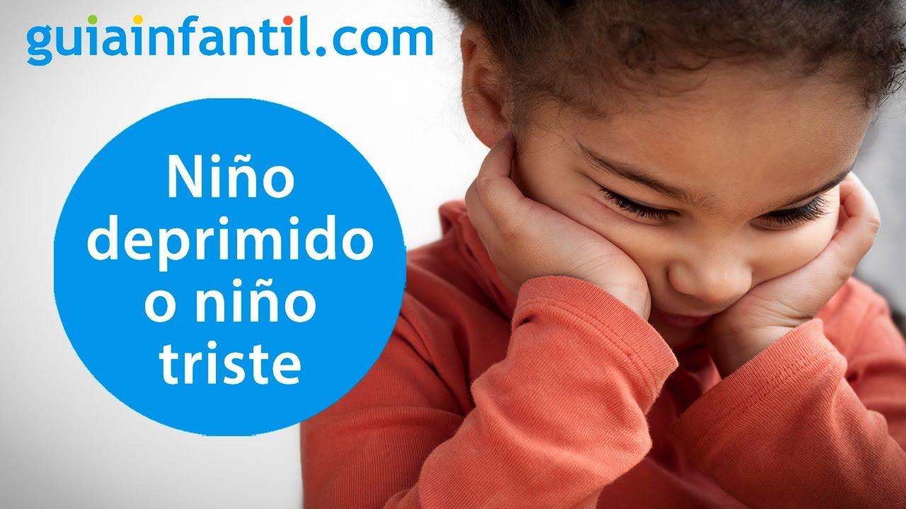 Cómo saber si un niño está deprimido o se siente triste | Síntomas de la depresión infantil