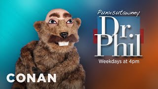 Introducing Punxsutawney Dr. Phil