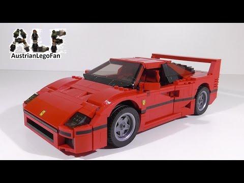 Vidéo LEGO Creator 10248 : La Ferrari F40