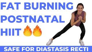 Postnatal Cardio Workout + Diastasis Recti Exercises