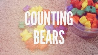 Toddler Activities with Learning Resources Bear Counters