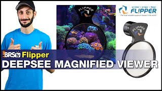Flipper DeepSee Magnified Viewer: See your tank & corals in a whole new way... Magnified!