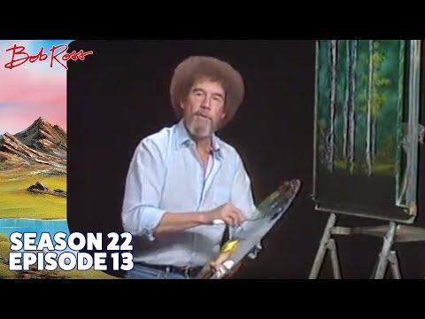 Bob Ross - Silent Forest (Season 22 Episode 13)