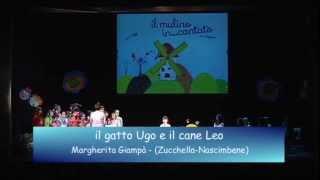 Il gatto Ugo e il cane Leo (Margherita Giampa)