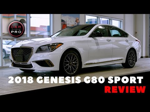 2018 Genesis G80 Sport Delivers Outstanding Luxury At Phenomenal Price