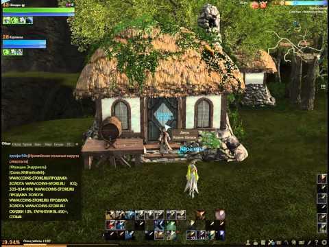 ArcheAge - постройка Дома-фермы