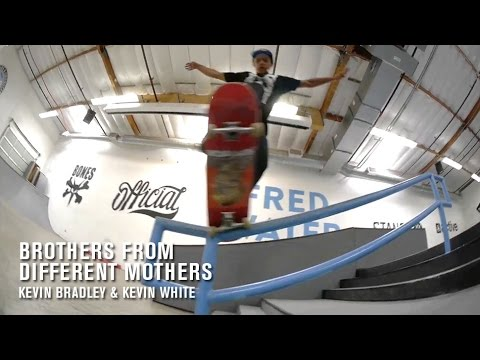 Brothers From Different Mothers: Kevin Bradley and Kevin White - TransWorld SKATEboarding