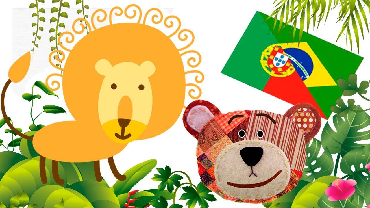 Cómo aprender portugués con los animales de la selva