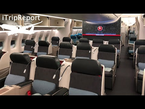 Turkish Airlines 777-300ER Business Class Review