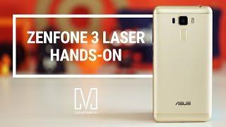 Asus Zenfone 3 Laser Hands-On